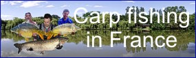 carp fishing in france at the beautifull e'tang de campas - tel: 07884257309